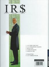 Verso de I.R.$. puis I.R.$ -2a2003- La stratégie Hagen
