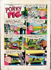 Verso de Four Color Comics (Dell - 1942) -271- Porky Pig in Phantom of the Plains