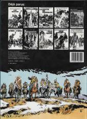 Verso de Jerry Spring -14a1984- Les broncos du Montana