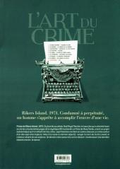 Verso de L'art du crime -9- Rudi
