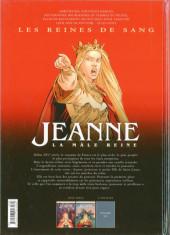 Verso de Les reines de sang - Jeanne, la mâle reine -2- Tome 2