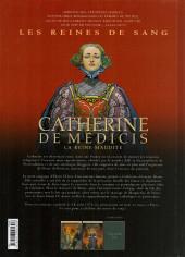 Verso de Les reines de sang - Catherine de Médicis, la reine maudite -2- Volume 2