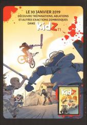 Verso de Kidz -1Extrait- Tome 1