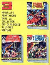 Verso de Classiques illustrés (Éditions Héritage) -1- Les trois mousquetaires