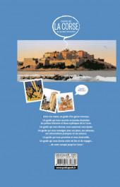 Verso de Le guide de la Corse en bandes dessinées - Guide de la Corse en bandes dessinées