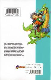 Verso de Dragon Ball Extra - Comment je me suis réincarné en Yamcha -1- Tome 1