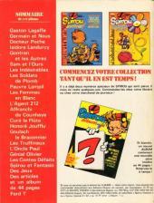 Verso de Spirou (Almanachs & Album+) -6- Spirou Album+ n°1