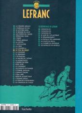 Verso de Lefranc - La Collection (Hachette) -13- Le vol du spirit