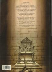 Verso de Le trône d'Argile -1a2007- Le chevalier à la hache