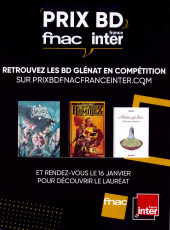 Verso de (DOC) Conseils de lecture - Les Incontournables - 50 ans d'édition Glénat