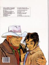Verso de Comanche -13- Le carnaval sauvage