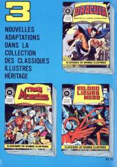 Verso de Classiques illustrés (Éditions Héritage) -5- Explorations dans le temps