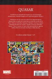 Verso de Marvel Comics : Le meilleur des Super-Héros - La collection (Hachette) -81- Quasar
