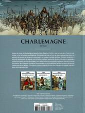 Verso de Les grands personnages de l'histoire en bandes dessinées -3- Charlemagne