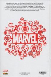 Verso de 50 ans de Marvel en France - 50 Ans de Marvel en France