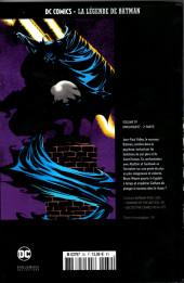 Verso de DC Comics - La légende de Batman -3924- Knightquest - 2e partie