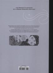 Verso de Les grands Classiques de la Bande Dessinée érotique - La Collection -756- Emmanuelle - Tome 2