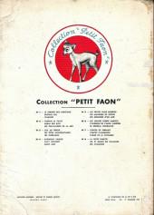 Verso de Petit faon -6- Les quatre sœurs marsch - l'auberge de l'ange gardien - le général dourakine