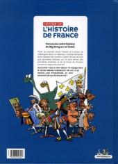 Verso de Histoire de l'Histoire de France -1- Du big bang à Louis XIV