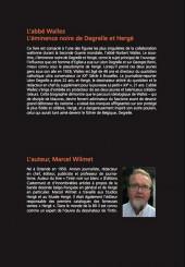 Verso de (AUT) Hergé - L'abbé Wallez, l'éminence noire de Degrelle et Hergé