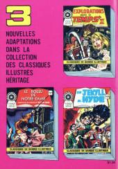 Verso de Classiques illustrés (Éditions Héritage) -6- Dracula