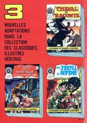 Verso de Classiques illustrés (Éditions Héritage) -7- Comment naît le courage