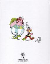 Verso de Astérix (Publicitaire) - Astérix fils de pub