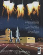 Verso de Paul Lamploix et les quatre Huberts -1- Chômeurs du futur
