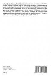 Verso de Corto Maltese (Divers) - Corto Maltese et la poétique de l'étranger : une enquête sociologique sur l'œuvre de Hugo Pratt
