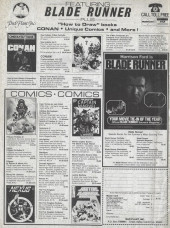 Verso de Savage Sword of Conan The Barbarian (The) (1974) -82- The Demon in the Dark!