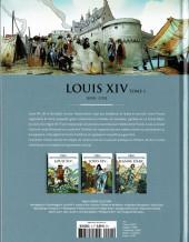 Verso de Les grands personnages de l'histoire en bandes dessinées -4- Louis XIV - Tome 1