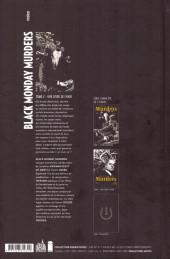Verso de Black Monday Murders -2- Une livre de chair