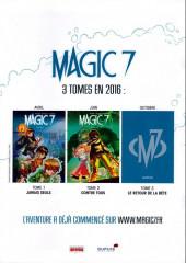 Verso de Magic 7 -1Extrait- Jamais seuls