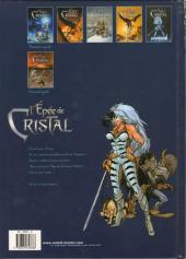 Verso de L'Épée de Cristal -6- La cité des vents