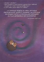 Verso de Hibouman - Hibouman genesis