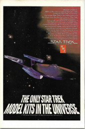 Verso de Star Trek (1980) (Marvel comics) -3- The Deadly V'ger Is About to Destroy the Earth...