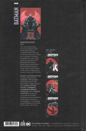 Verso de Batman : Meurtrier & fugitif -3- Tome 3