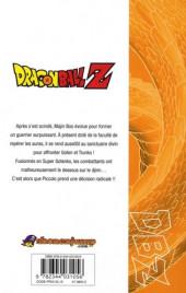 Verso de Dragon Ball Z -35- 8e partie : Le combat final contre Majin Boo 2