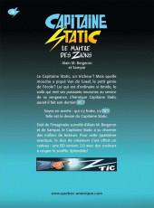 Verso de Capitaine Static -4- Le Maître des Zions