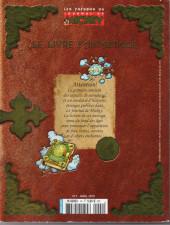 Verso de Les trésors du journal de Mickey -HS2- Le livre fantastique