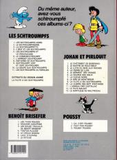 Verso de Les schtroumpfs -3b1986- La schtroumpfette