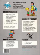 Verso de Les schtroumpfs -10a1986- La soupe aux schtroumpfs