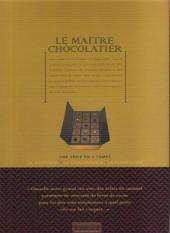 Verso de Le maître chocolatier -1- La boutique