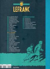 Verso de Lefranc - La Collection (Hachette) -14- La colonne