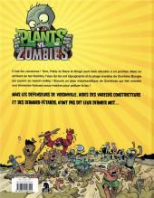 Verso de Plants vs. zombies -10- Grabuge au Lac Gombo
