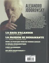 Verso de Alejandro Jodorowsky 90e anniversaire -2- Volume 2