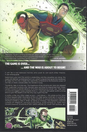 Verso de Injustice: Gods Among Us: Year Two (2014) -INT02- The game is over... and the war is about to beginn!