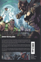 Verso de Injustice: Gods Among Us : Year Five (2016) -INT01- Enter the villains!