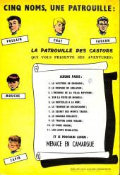 Verso de La patrouille des Castors -5a1964- La bouteille à la mer