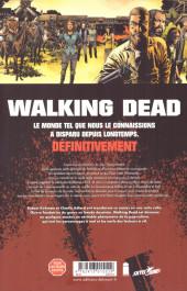 Verso de Walking Dead -31- Pourri jusqu'à l'os